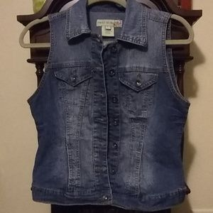 Paris Blues Jean Vest